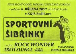 SPORTOVNÍ ŠIBŘINKY 2017 - 4.března!!!